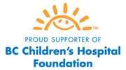Proud supporter of BC Children's Hospital